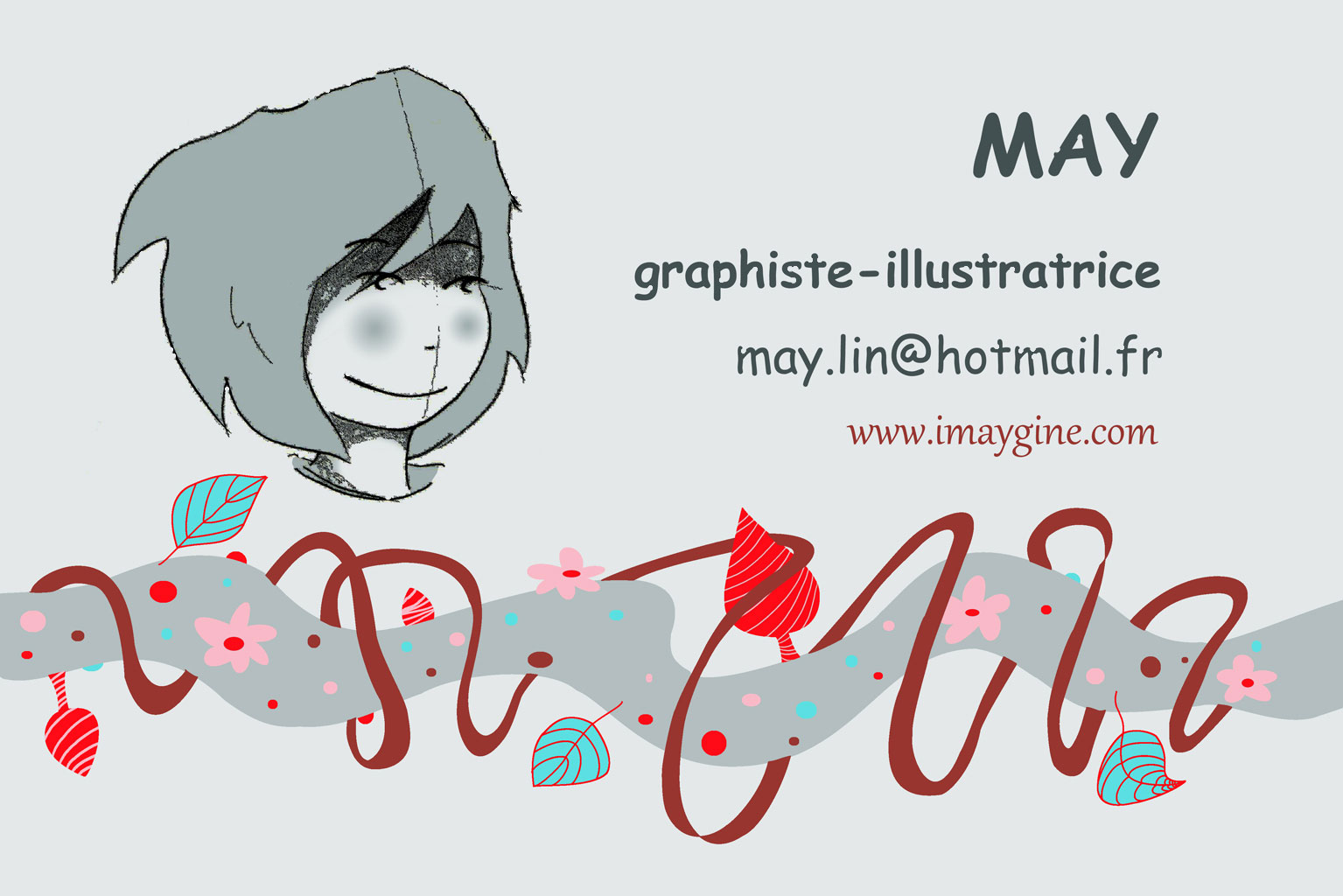 Carte De Visite Graphiste Illustratrice