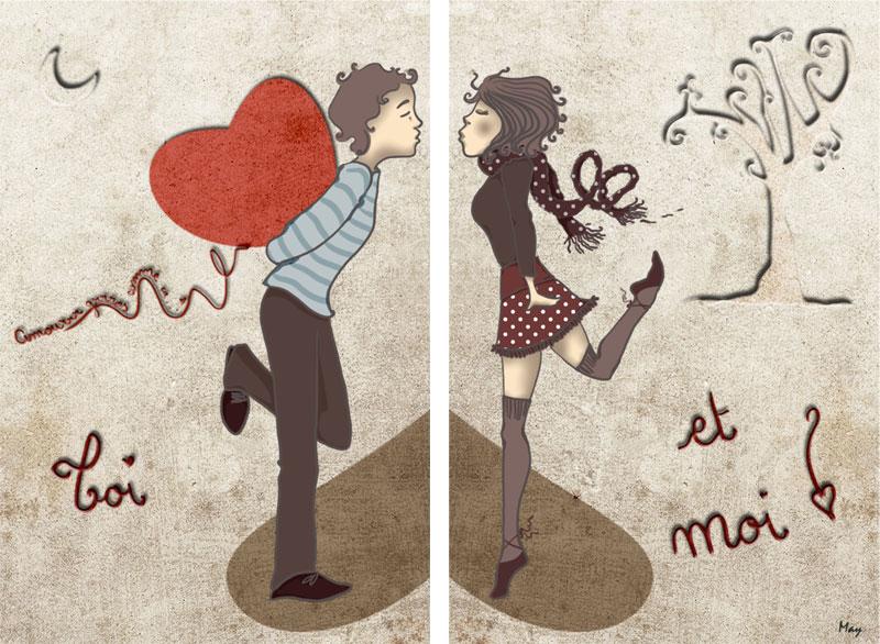 carte declaration amour