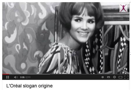 L'oréal slogan origine