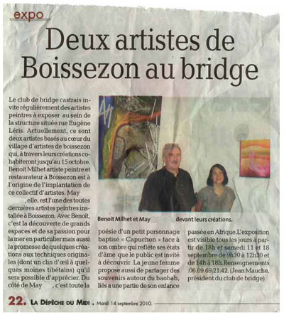 exposition villegoudou bridge castres