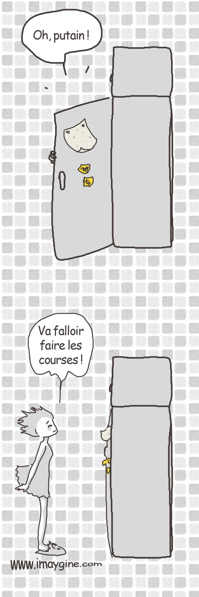 frigo vide