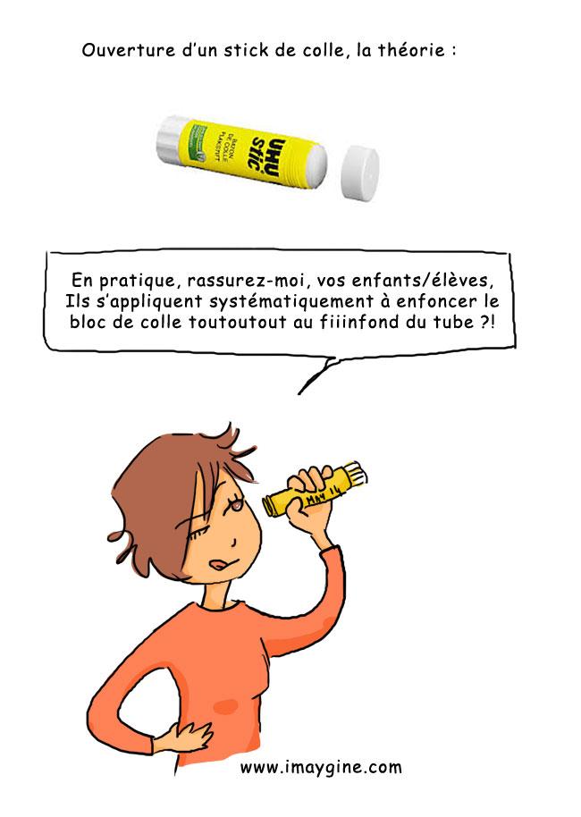 colle jaune uhu