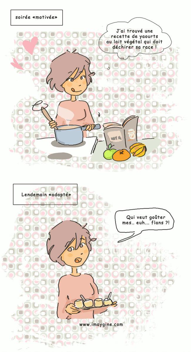 cuisine recette yaourt maison