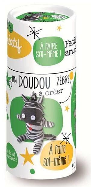 doudou à coudre zebre